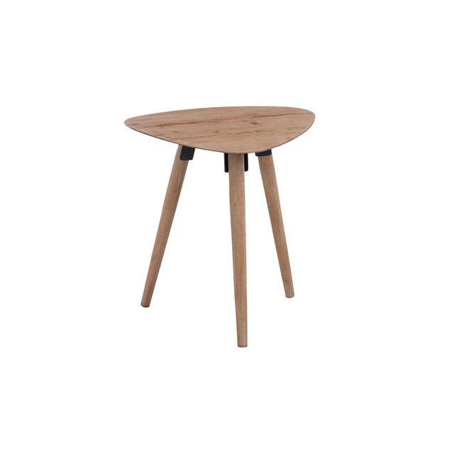 Table gigogne triangle 48x39x50cm en bois