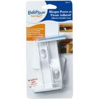 BabySun - 2 bloques porte et tiroir double sécurité