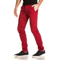 BLZ Jeans - Pantalon chino homme rouge Sk9837