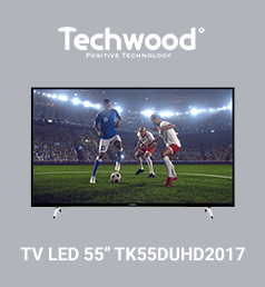 TECHWOOD TV LED 55'' TK55DUHD2017