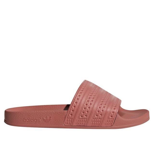 size 40 a91ce f192d Adidas - Adilette W - pas cher Achat   Vente Sandales et tongs femme -  RueDuCommerce