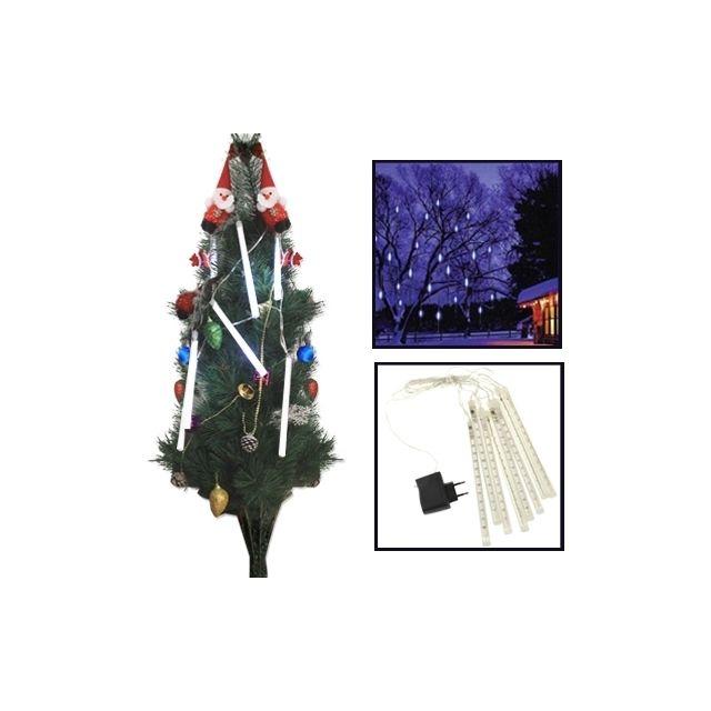 De Lumière Led Météor Noël Lumières Lampe Del Barre Blanche 8 Pour À uPXikZ