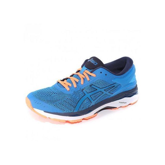 6318c5dda623ce Asics - Chaussures Gel Kayano 24 Bleu Running Homme - pas cher Achat    Vente Chaussures running - RueDuCommerce