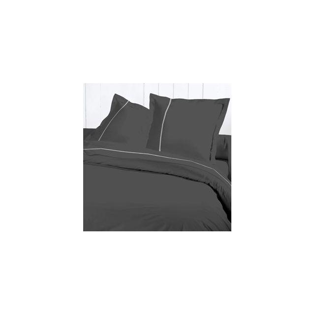 david olivier drap plat 270x310 percale g anthr pas cher achat vente draps plats. Black Bedroom Furniture Sets. Home Design Ideas