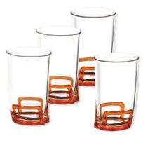 Evrard - Set De 4 Verres Haut Winky Vivo - Orange