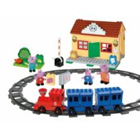 Simba Toy - Peppa Pig A la Gare 95 pieces Play Bloxx
