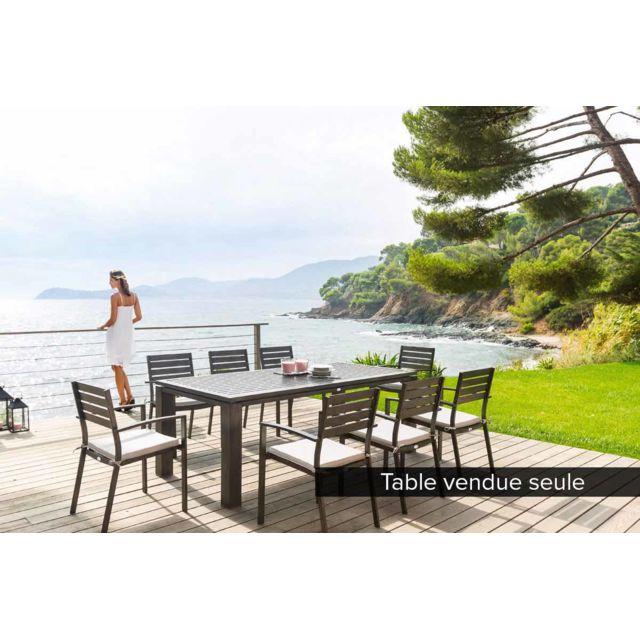 HESPERIDE - Table de jardin rectangulaire Figari 8 places 1 ...
