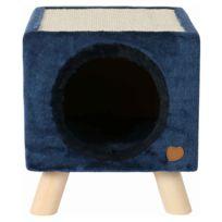 Animalis - Maison Griffoir Piloti pour Chats Bleu