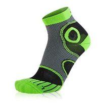 S8X - Chaussettes Advanced Short noir vert