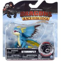 Dragons - Spin Master - Stormfly - Dragon Bleu - Race To The Edge - Legends Collection