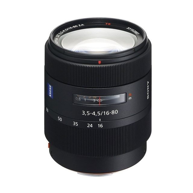 Sony Objectif Vario-Sonnar T Dt 16-80 mm f/3,5-4,5 Za