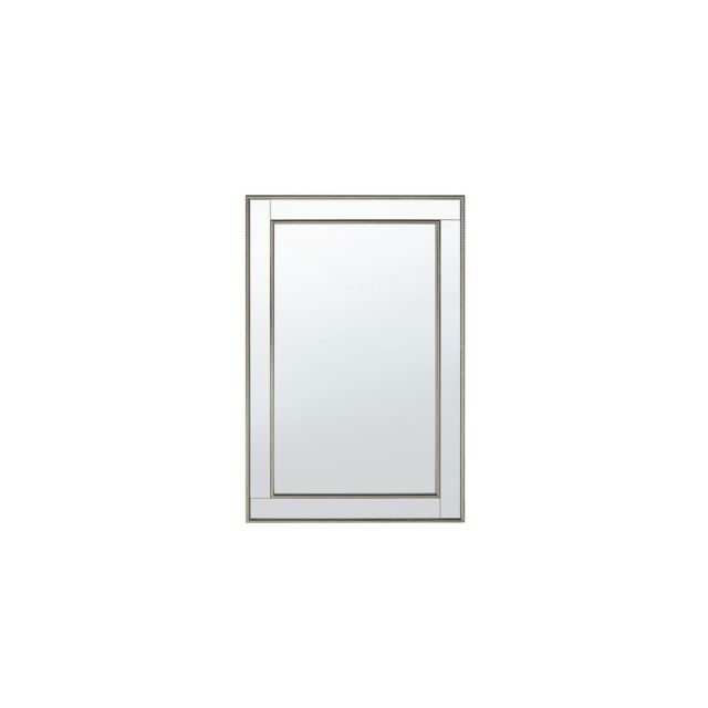 BELIANI Miroir doré et argenté 60 x 90 cm FENIOUX - argent