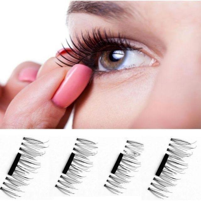 Magnétique Eye 3d Faux Cils Pcs Accessoires De Wewoo Beauté 4 uPZliOXTkw