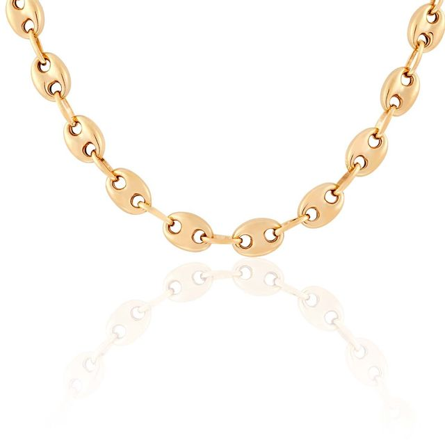collier homme or 750