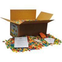 Playmais - carton xxl de 6300 flocons + accessoires