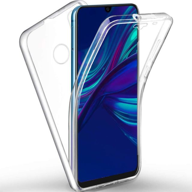 coque transparente silicone huawei psmart 2019