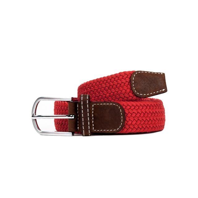 cheap sale wholesale online innovative design Billy Belt - Ceinture tressée rouge grenade - pas cher Achat ...