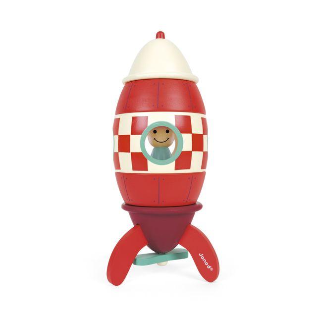 Janod - Kit magnet super fusée en bois