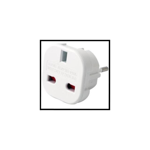 etronix adaptateur prise anglaise fran aise pas cher achat vente batteries et chargeurs. Black Bedroom Furniture Sets. Home Design Ideas
