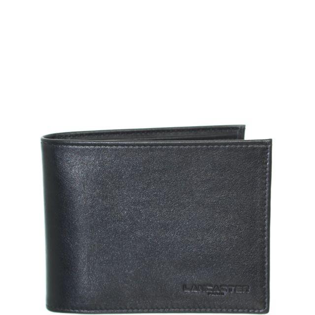9944946df7 Lancaster - Portefeuille en cuir ref_lan41907-noir-12.5 9.5 2 - pas cher  Achat / Vente Portefeuilles - RueDuCommerce