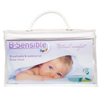 B.sensible - Drap Housse - 80 X 50 - Blanc 01 Import Grande Bretagne