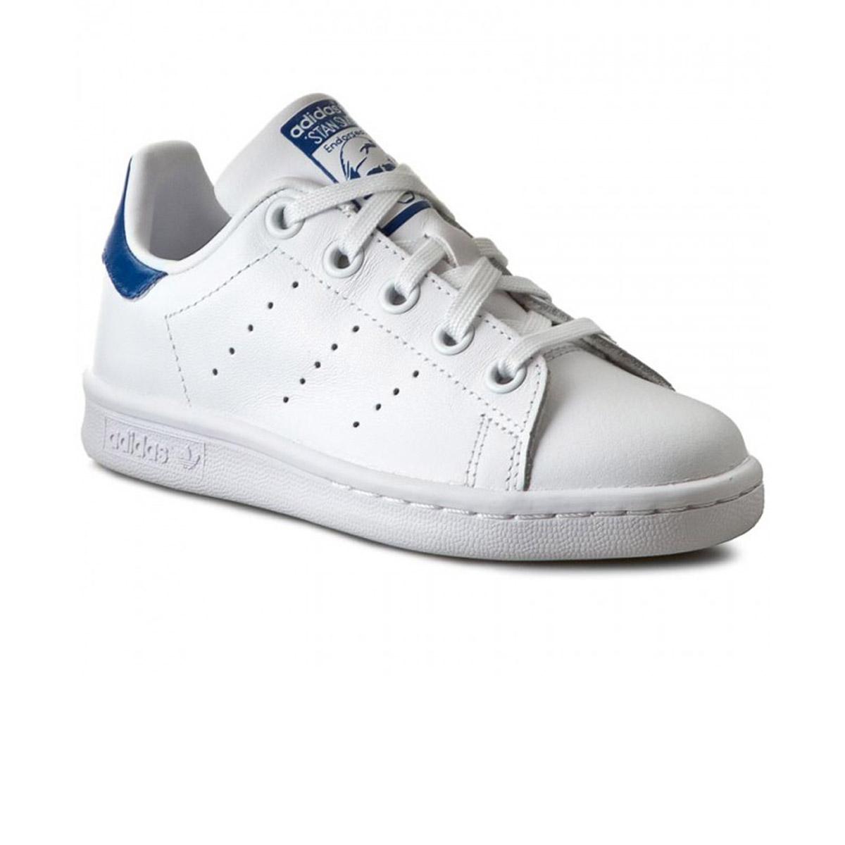 Chaussures Stan Smith Blanc/Bleu Cadet h16
