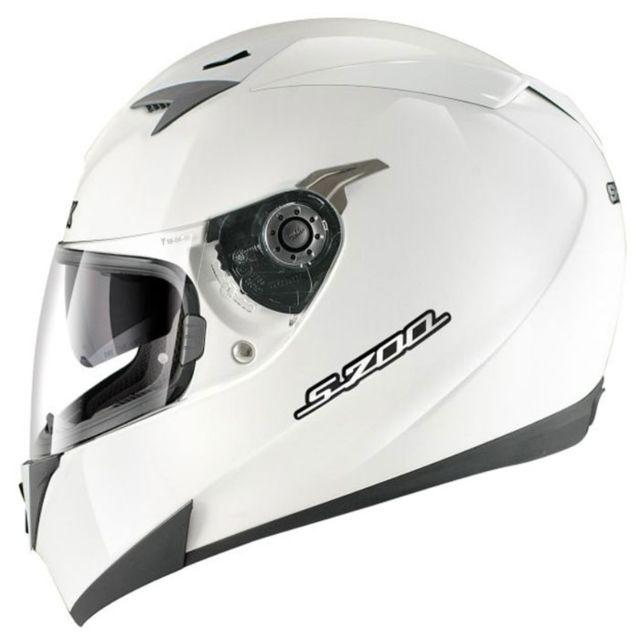 Shark Casque Moto Intégral Polycarbonate S700 Prime Whu Blanc