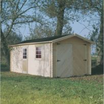 Dedans Dehors - Garage en bois Solid 17,20m
