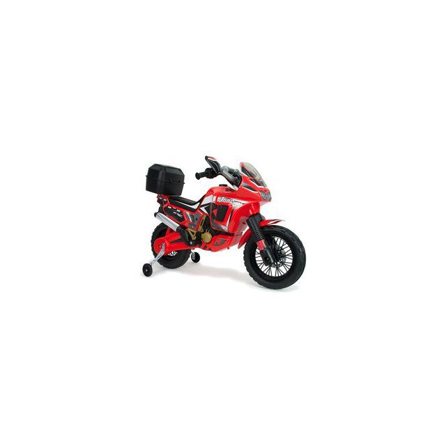 Injusa Moto électrique Honda Africa Twin 6V rouge