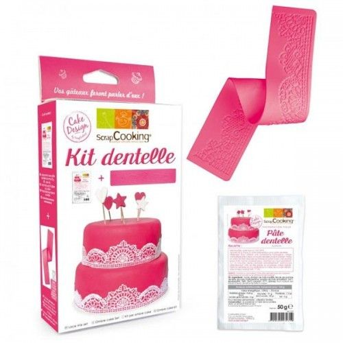 Scrapcooking Kit dentelles comestibles