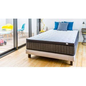 hbedding matelas m moire de forme 140x190 memo royal technologies combin es visco latex. Black Bedroom Furniture Sets. Home Design Ideas