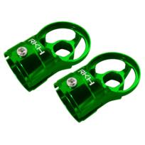 RakonHeli - Support de moteur alu vert Pod 250 - Rakon Heli