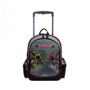 disney transformers sac dos roulettes scolaire cole. Black Bedroom Furniture Sets. Home Design Ideas