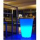 Lumisky vase lumineux multicolore conique secteur d'extérieur 38cm - 303131