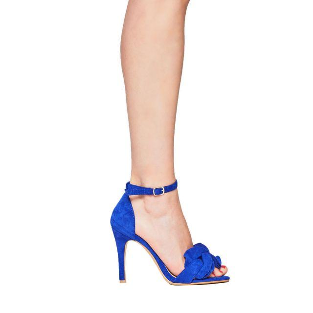 Infinie Passion Sandales à talons bleu roi 00W062037 pas