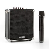 "FENTON - ST040 Sono portable Bluetooth subwoofer 6,5"" USB microSD MP3 VHF batterie"