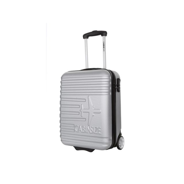 Cabine Size Valises Rigides Valise Low Cost - Fly Argent S - Weekend