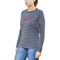 Maloja - HaystackM T-shirt manches longues - gris/bleu