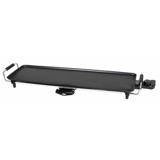 BLACKPEAR Plancha Teppan Yaki électrique - 70x23,5cm - 1800W - BPTY070