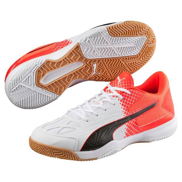 Fluo Evospeed 47 Puma Indoor Blancnoirrouge 5 Chaussures 5 8pZq4w