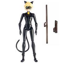 MIRACULOUS LADYBUG - Figurine super articulée 15 cm - Chat Noir