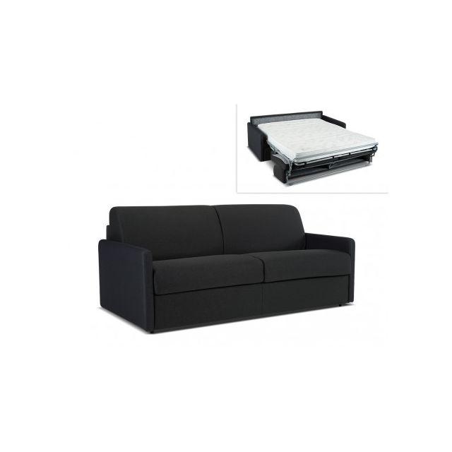 marque generique canap 4 places convertible express en tissu calife gris couchage 160 cm. Black Bedroom Furniture Sets. Home Design Ideas