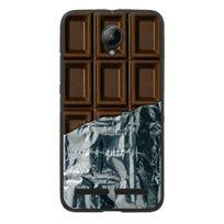 Kabiloo - Coque souple pour Lenovo C2 avec impression Motifs tablette de chocolat
