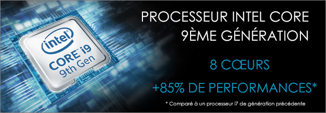 MSI - Processeur Intel Core i9 9th