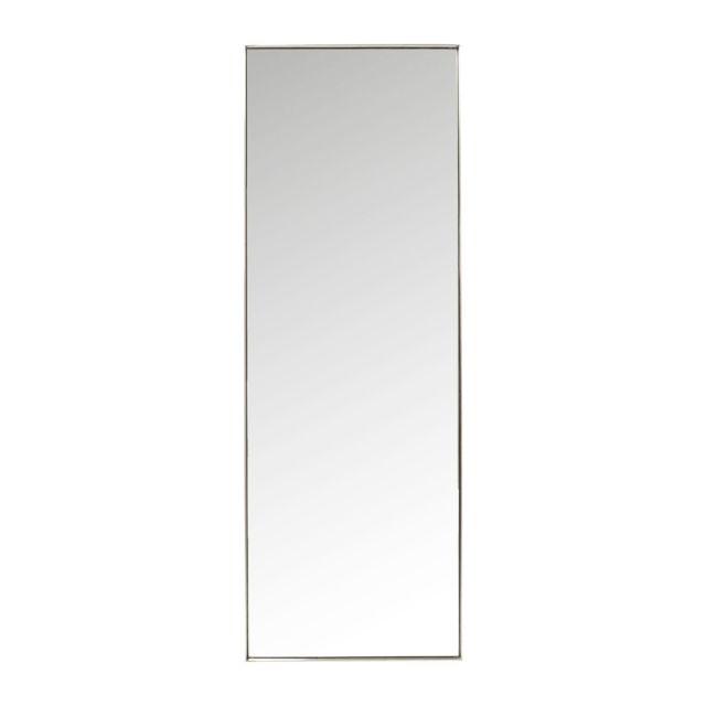 Karedesign miroir curve rectangulaire inox 200x70cm kare for Miroir design rectangulaire