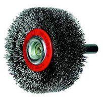 Osborn - Brosse circulaire, fil acier ondulé avec tige de 6 mm 50x10x6 mm 504161