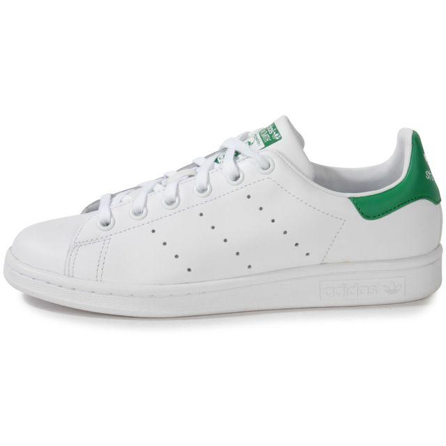size 40 eba42 41695 Adidas originals - Stan Smith Blanc Vert