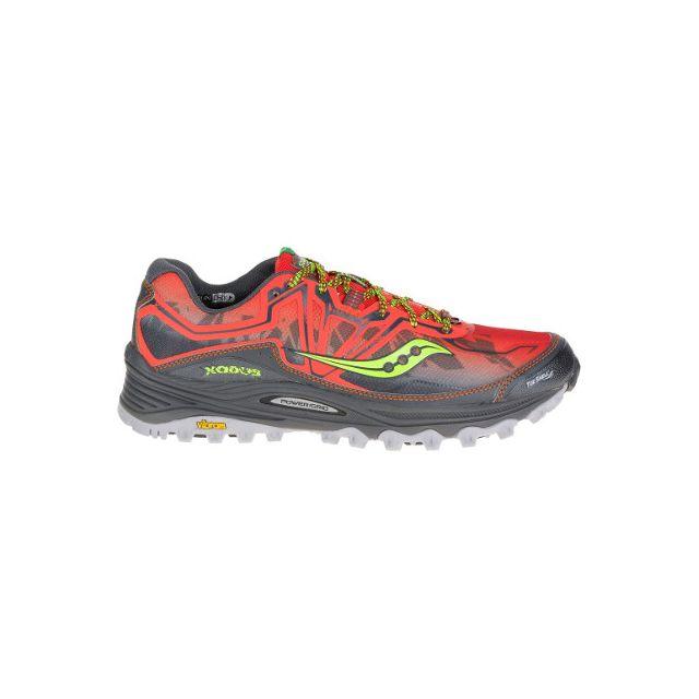 fd8afddd2dc Saucony - Xodus 6.0 orange Rouge - pas cher Achat   Vente Chaussures running  - RueDuCommerce
