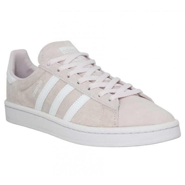 Adidas - Campus velours Femme-38 2/3-Rose Pale - pas cher ...