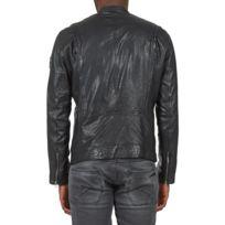 f05165fc49d Blouson cuir pepe jeans - catalogue 2019 -  RueDuCommerce - Carrefour
